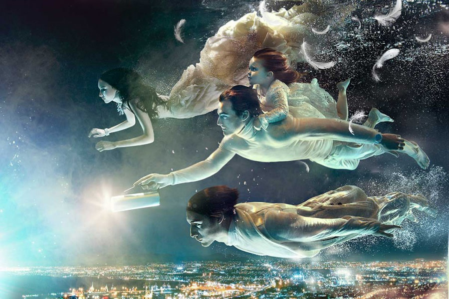 Underwater fashion - Zena Holloway 1