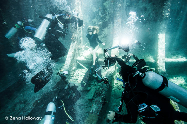 Modeling Free Diving | Zena Holloway