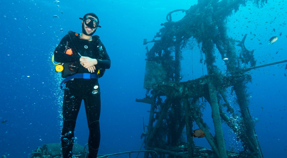 Underwater photography workshop - Wreck diving