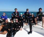 Group photo dive trip