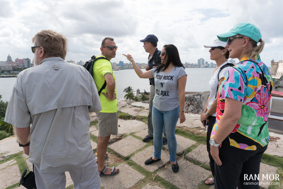 Touring Havana with Erika