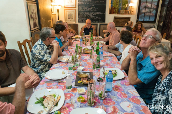 Group dinner at Chef Ivan Justo